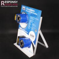 Buy cheap Mini Metal & PVC Plate Pump Display Counter Stand from wholesalers