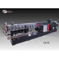 Buy cheap Automatic Plastic Extrusion Equipment / 70mm Twin Screw Extruder Machine from wholesalers