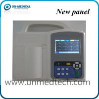Buy cheap UN-medical three channels ECG machine with touch screen, human/veterinary available from wholesalers