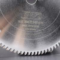 Buy cheap Carbide tipped saw blade for laminate flooring, Ceratizit carbide tipped, 75Cr1 or SKS51 plate from wholesalers
