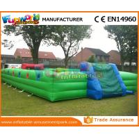 Buy cheap 0.55 MM PVC Tarpaulin Inflatable Soccer Field Football Court Arena 1 Year Warranty from wholesalers