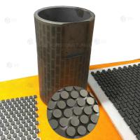 Buy cheap YG9 Carbide Rubber Insert Plate , Tungsten Bricks Hardfacing High Hardness from wholesalers