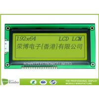 Buy cheap 6800 / 8080 Interface Graphic LCD Module Screen COB STN LCD Display 192x64 from wholesalers