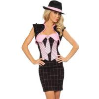 Buy cheap Old School Gangster Costume Adult Costumes for Carnival Christmas Halloween from wholesalers