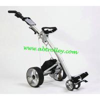 Buy cheap Carbon golf trolley runs for 36 holes Golf Bag Cart of quite motors pull kart from wholesalers