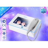 Portable Face Wrinkle Remover Machine , Slaon Ultrasonic Facial Machine