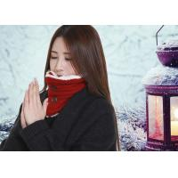 Buy cheap DC5V Battery Operated Heated Scarf With Power Bank Button Design Removable product