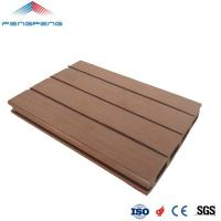 Buy cheap Factory Wood Plastic Composite Outdoor Wood Grain Flooring WPC Deck Board from wholesalers