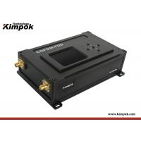 Buy cheap 50km LOS UAV Video Transmitter 2W RF uplink and downlink COFDM Wireless Ethernet from wholesalers