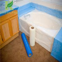 Buy cheap 8 Mil Low Density Adhesive Clear Acrylic Bathtubs Protective Film from wholesalers