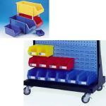 Buy cheap plastic part bins, shelf bins, storage bins from wholesalers