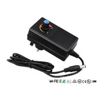Buy cheap CE UL Adjustable Output Voltage Wall Adapter Power Supply With Adjustable Switch product