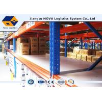 Buy cheap Customized Adjustable Pallet Warehouse Racking System For High Capacity Storage product