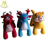 Buy cheap Hansel  motorized plush riding toy animals electric motor for go kart battery operated stuffed animals from wholesalers