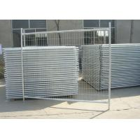 Buy cheap Galvanized Steel Pipe Builders Temporary Fencing For Construction Site from wholesalers