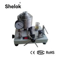 Buy cheap Hydraulic ±0.02% hot sale  oil digital Dead weight Tester Pressure Tester in china product