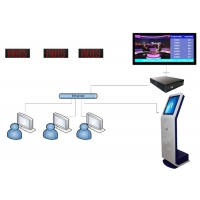 Buy cheap High Brightness QMS Service Center Queue Ticketing System from wholesalers