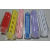 Threaded plastic cast acrylic rod colorful with mm