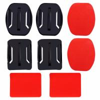 Buy cheap Double Side Sticker Mount With Flat And Caved Surface Base For GoPro Hero 5 4 2 3 SJCAM SJ4000 Xiaoyi Yi 4K Accessories from wholesalers
