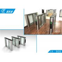 Buy cheap RFID Card System Flap Gate Barrier 550mm Width SUS304 Housing For Metro Station from wholesalers