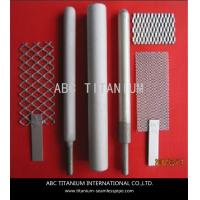 Buy cheap MMO Coated Titanium Anode and Cathode for Swimming Pool Water Treatment from wholesalers