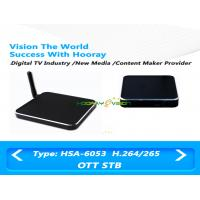Buy cheap MPEG 4 Quard Core OTT Set Top Box 1080P Output Resolution With Amlogic S805 Chipset from wholesalers