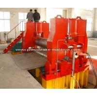 Buy cheap Metal CNC Plate Rolling Machine Bending Rolls Hydraulic Drive from wholesalers