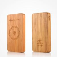 Buy cheap Universal Bamboo 6000mAh Wireless Portable Battery Pack CE / RoHS / FCC Approval from wholesalers