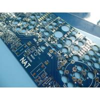 Buy cheap ISO Certified 6Oz Two Sided Standard PCB Thickness Fr4 Copper Clad Board from wholesalers