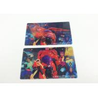 Buy cheap 0.6MM PET Flip Effect 3D Lenticular Business Cards UV CMYK Printing from wholesalers