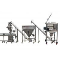 Buy cheap High speed Automatic powder filling line with auger filling machine mixing from wholesalers