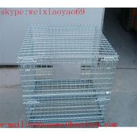 Buy cheap heavy gauge wire mesh storage  cage/pallet cage/wire security cage/steel storage cabinets (factory price ) from wholesalers