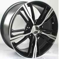 Buy cheap Car Rims 17 For BMW 228i / Gloss Black Machined 17 inch alloy rims from wholesalers