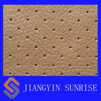Buy cheap Plain Weave Full Grain Polyurethane Fake Car Seat Leather Abrasion - Resistant from wholesalers