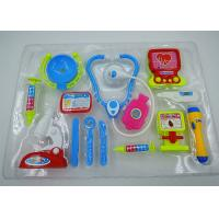 Buy cheap Role Play Medical Kit Playset Doctor Set Toys For Kids Pink Blue Colors 13 Pcs from wholesalers