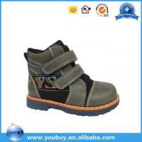 Buy cheap Whosale Winter collection fancy children leather shoes /baby style children winter boot shoes with lace from wholesalers