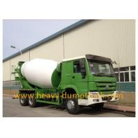Buy cheap 336hp Howo Truck Mounted Concrete Mixers With 8m³ Cubage , HW76 Cabin from wholesalers