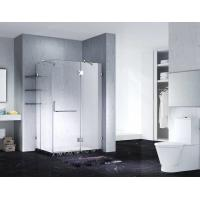 Buy cheap Slimline Frameless Rectangle Shower Enclosure With Pivot Door, AB 1242-1 product