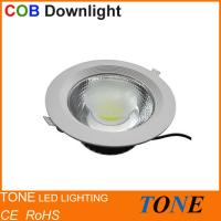 Buy cheap TONE- Wholesale 100-240Vac Hot Sales LED COB Downlight 10W 4 Inch / Built-in Driver from wholesalers