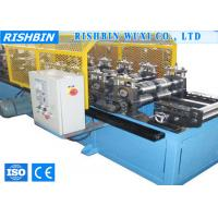 Buy cheap 5.5 KW Eaves Trim Ridge Flashing Roof Panel Roll Forming Machine with 10 Stations from wholesalers