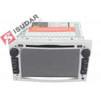 Buy cheap Silver Panel Opel Corsa Dvd Player , Android Bluetooth Car Stereo With Google from wholesalers