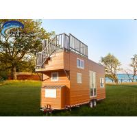 Buy cheap Steel Frame Prefabricated Tiny House on wheels Pre Built Tiny Homes AISI S100 AS/NZS 4600 from wholesalers