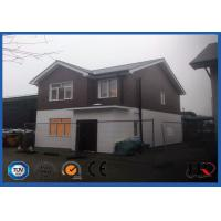 Buy cheap 120sqm Luxury Light Steel Structure Villa / Prefabricated House Kits from wholesalers