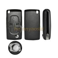 Buy cheap PSA 4 Button Flip Key , Lock / Unlock Folding Remote Key Broken Proof product