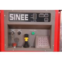 Buy cheap SINEE 55 kw Inverter Building Material Hoist with 400kg Lifting Device on Cage Top from wholesalers