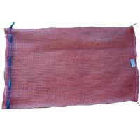 China pp tubular purple mesh bag 50x80,32gr/pc,onion bag,with drawstring on sale