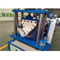 China Roof Ridge Sheet / Roof Panel Roll Forming Machine Roof Ridge Cap Making on sale
