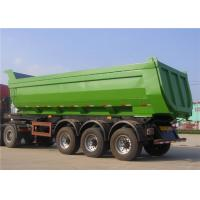 Buy cheap 30M3 - 50M3 Heavy Duty Semi Trailers T700 50 Ton 60T Dump Trailer For Mineral Loading from wholesalers