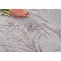 Buy cheap Delicate Embroidered Wall Covering Jointless Fabric Wall paper ISO9001 Certificated from wholesalers