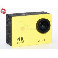 Colorful Ov4689 4k 25fps Action Camera With 2.4 G Remote Comtroller For Diving